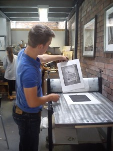 Printmaking Workshops in Shropshire