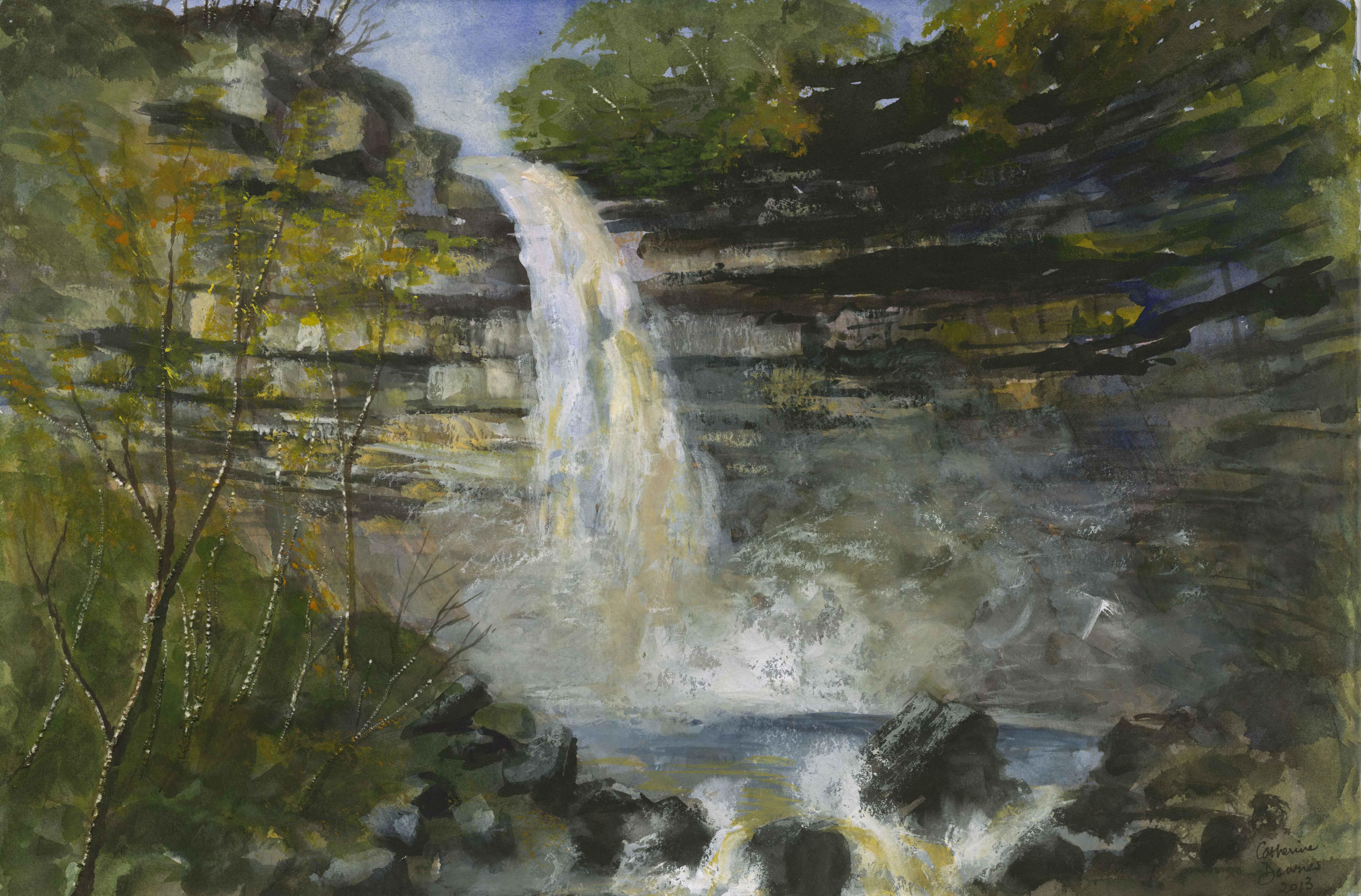Hardraw Falls- Yorkshire