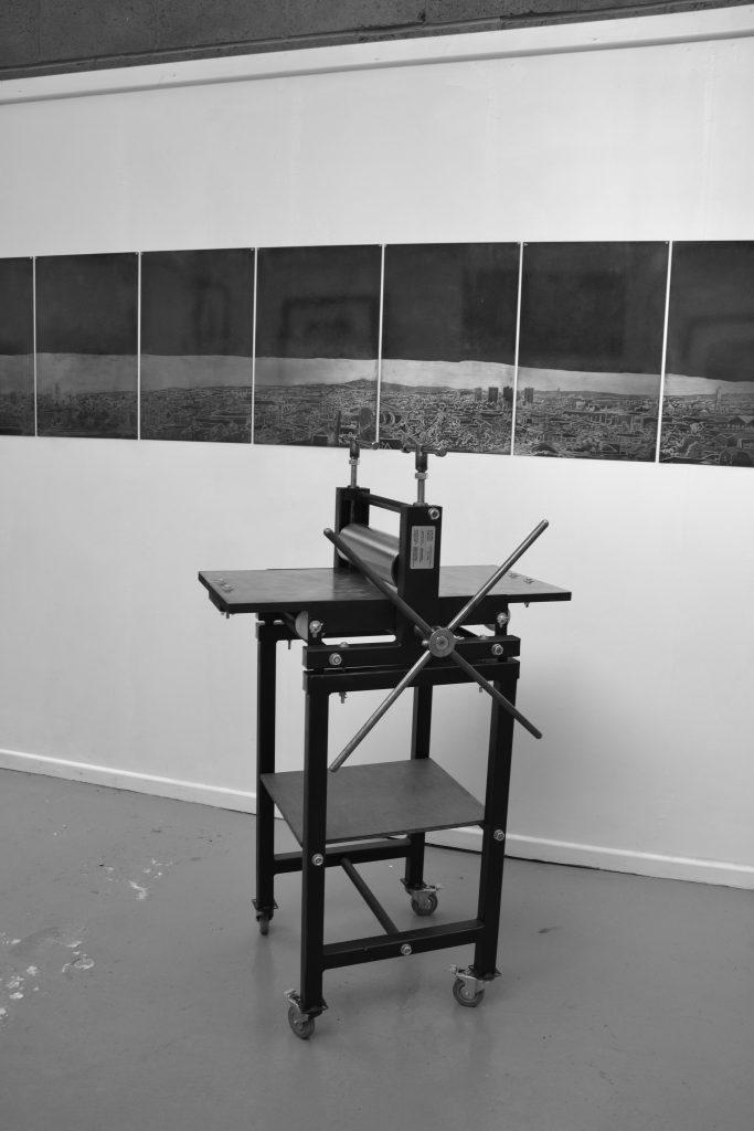 Gunning Etching press Smallest