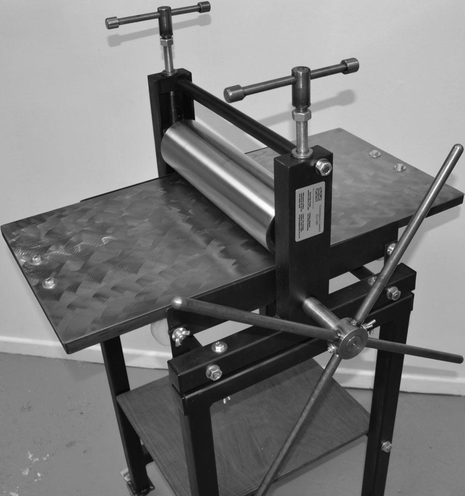 Little Thumper Etching press