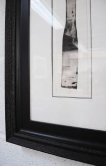 Triple Core Mount with Antique Black Frame and Black Slip Frame