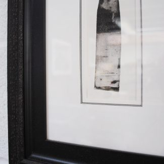 Triple Core Mount with Antique Black Frame and Black Slip Frame