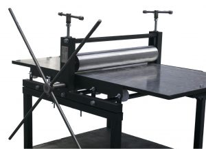 Ironbridge Fine Etching printing press 3