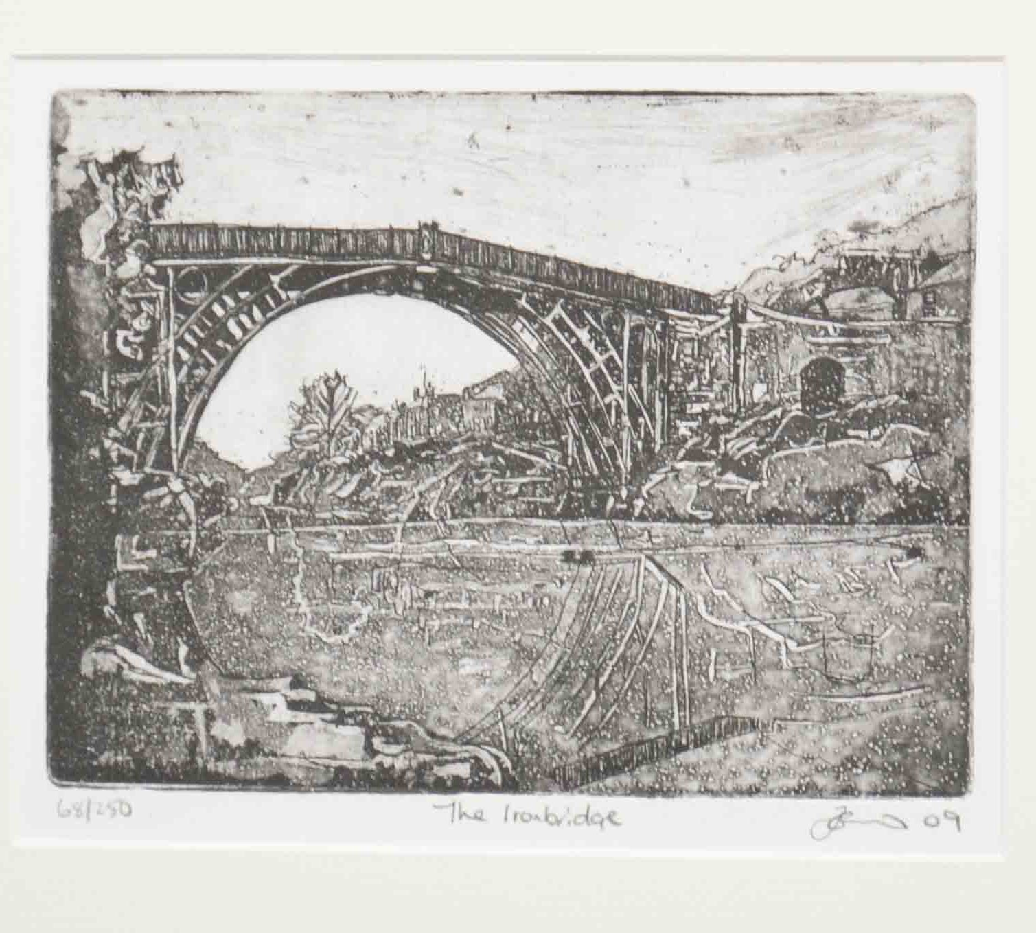Etching by Jenny Gunning