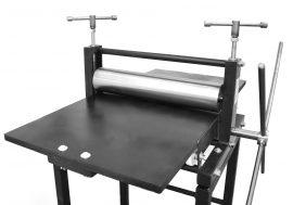 Etching printing press