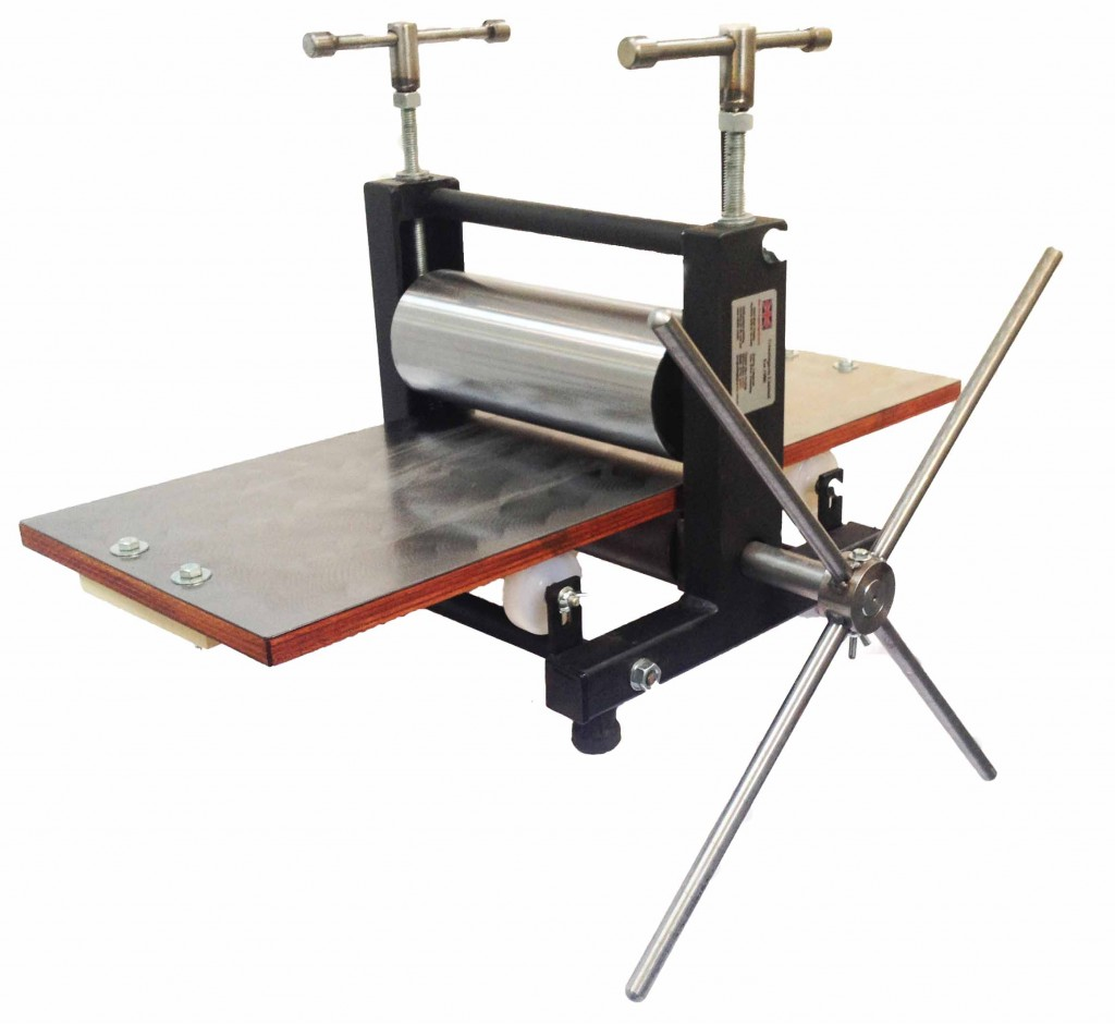 """Small Etching Press - """"Little Thumper"""" Small Printing Press"""