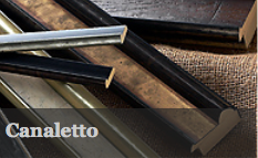 Canaletto has a gorgeous range of four colours, which work amazingly with all types of artwork. There are also two mount slips in this range in pewter and silver.