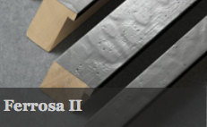Ferrosa II has the same dimpled surface as Ferrossa the only difference is this range has a flat profile which comes in four sizes.