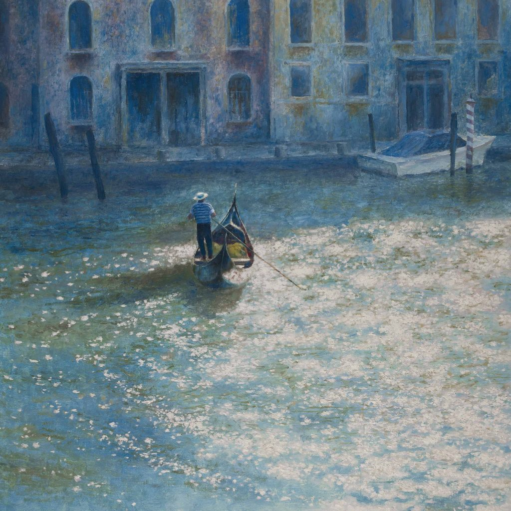 On The Grand Canal venice print