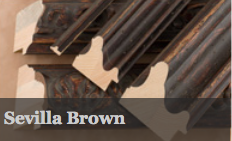 Sevilla Brown comes in a rich, brown wood tone - the new alternative to black. With it's five detailed profiles and matching mountslip, this collection offers artwork and interiors an authentically old world look