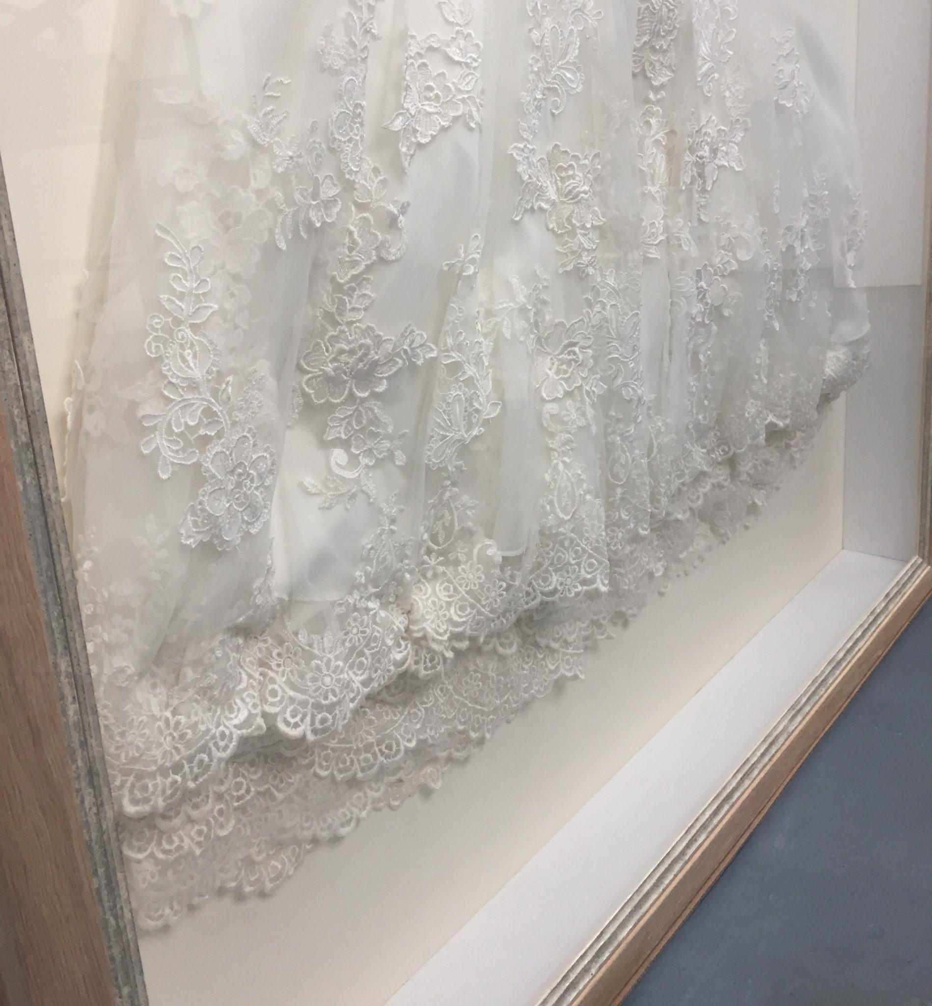 Wedding Dress Framing - Ironbridge Fine Arts & Framing