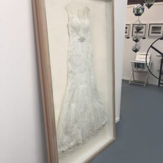 Wedding Dress Framing 3