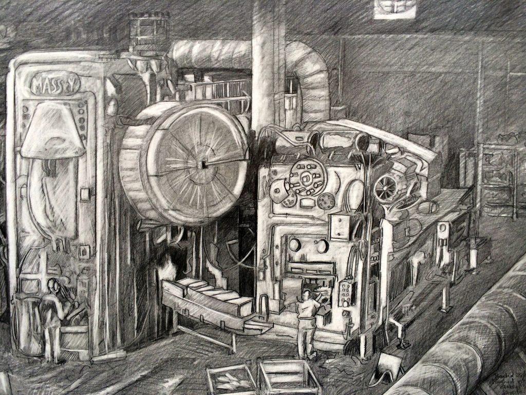 machinery print