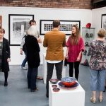 Full Art gallery in ironbridge