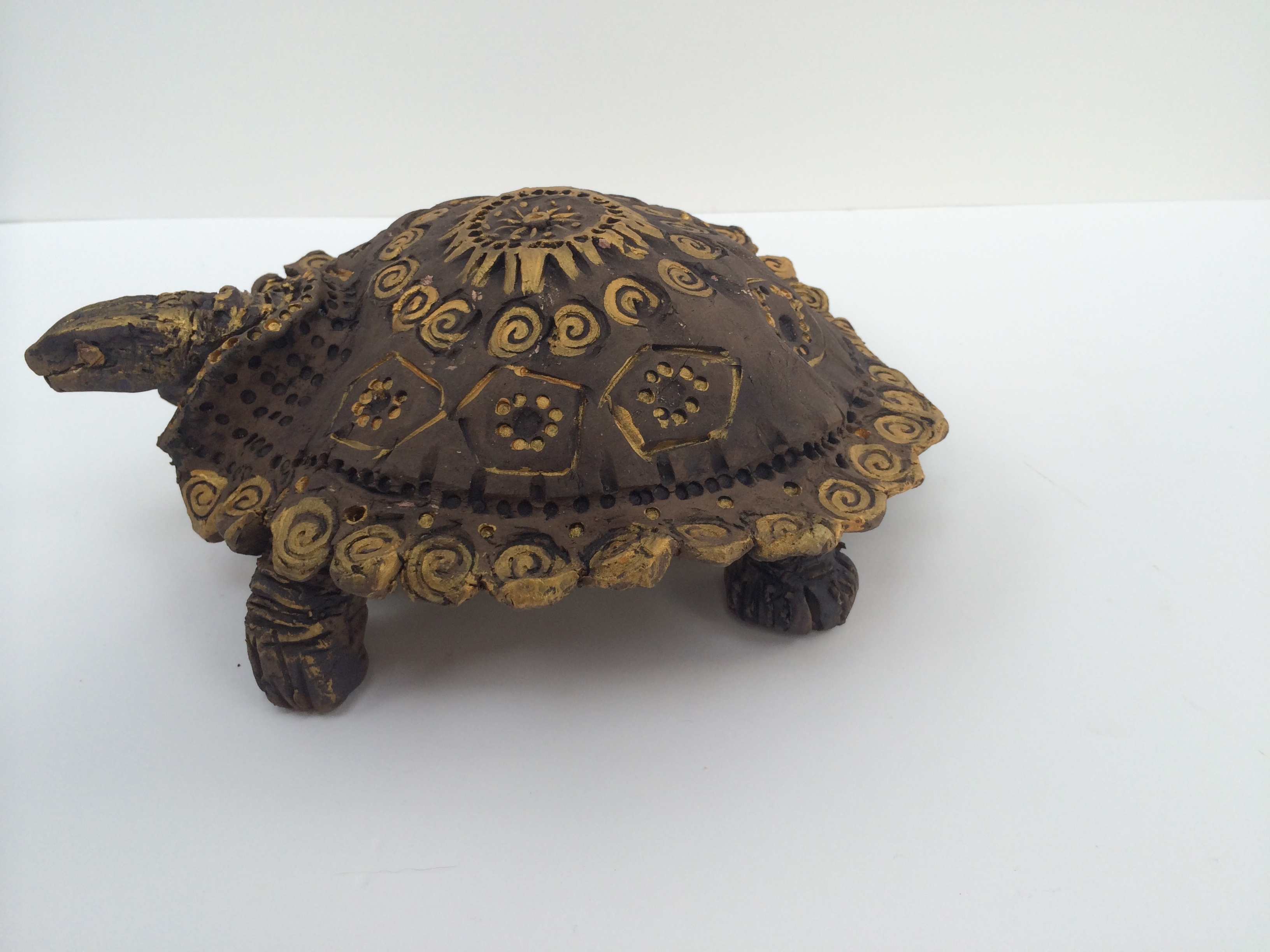 turtle sculpture