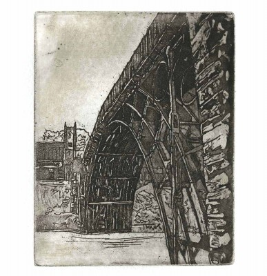 Ironbridge Looking up 15 x 12cm