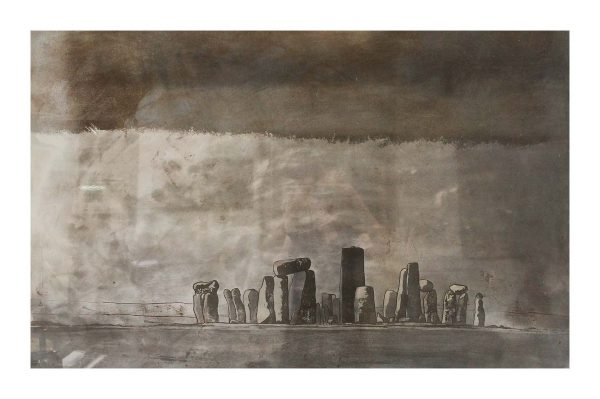 Stonehenge on Steel print