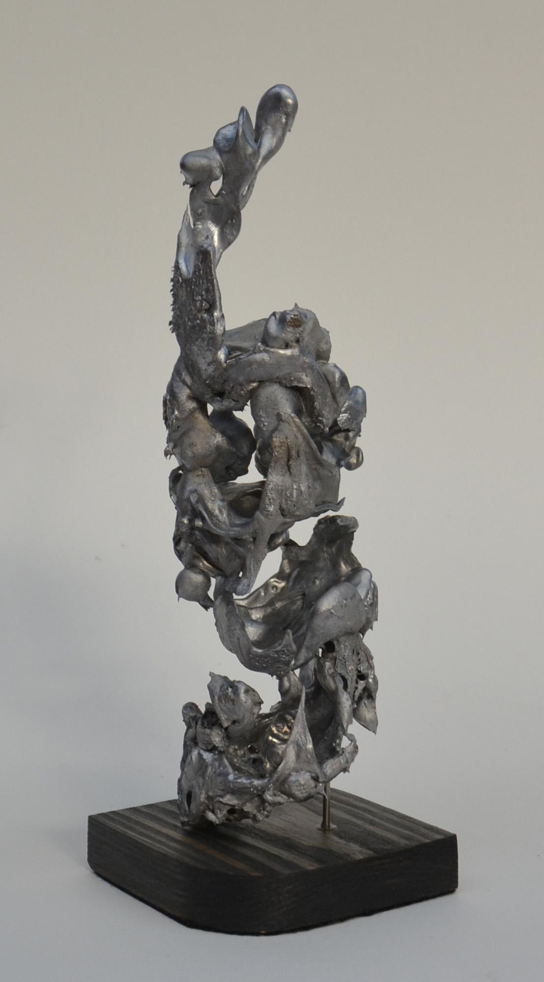 Abstract aluminium casting