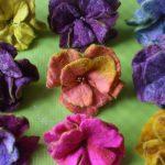 Jane Marrows material flowers