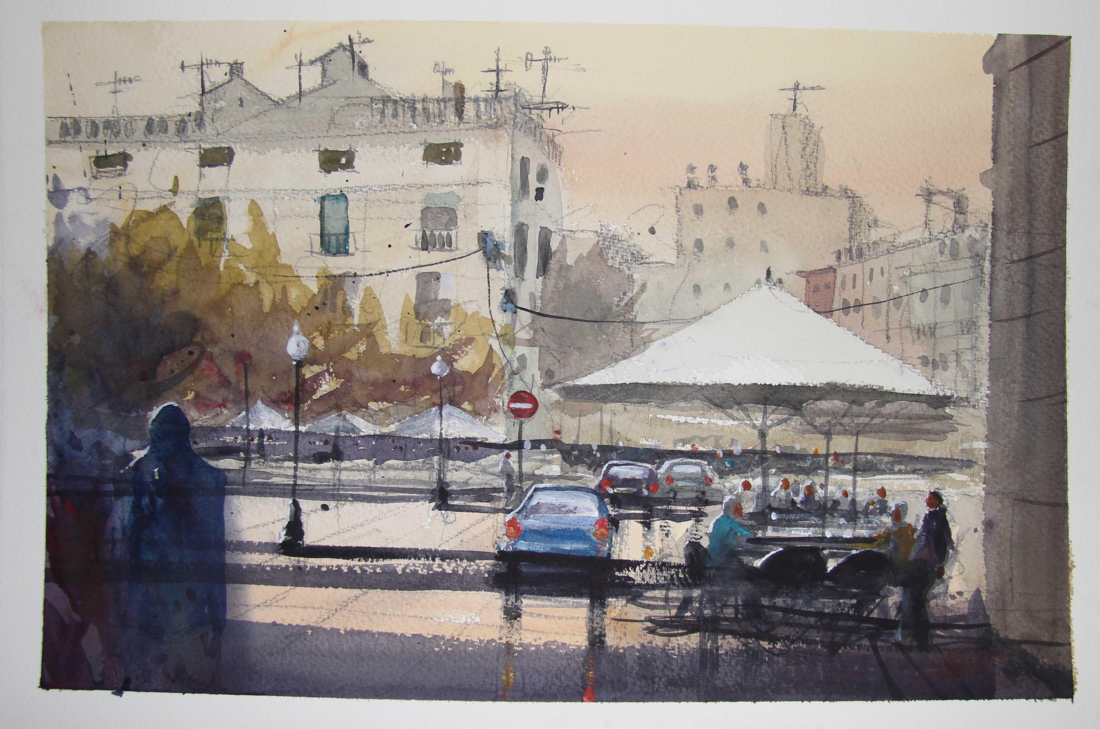 Girona painting