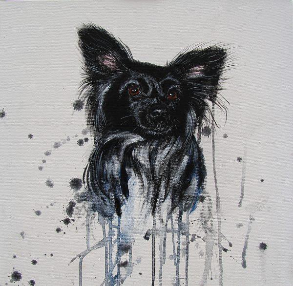 Charlie Beau dog portrait