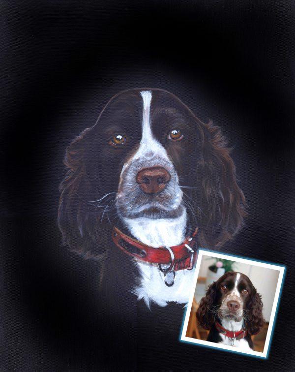 Charlie Trixie2 dog portrait