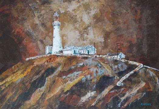 lighthouse print