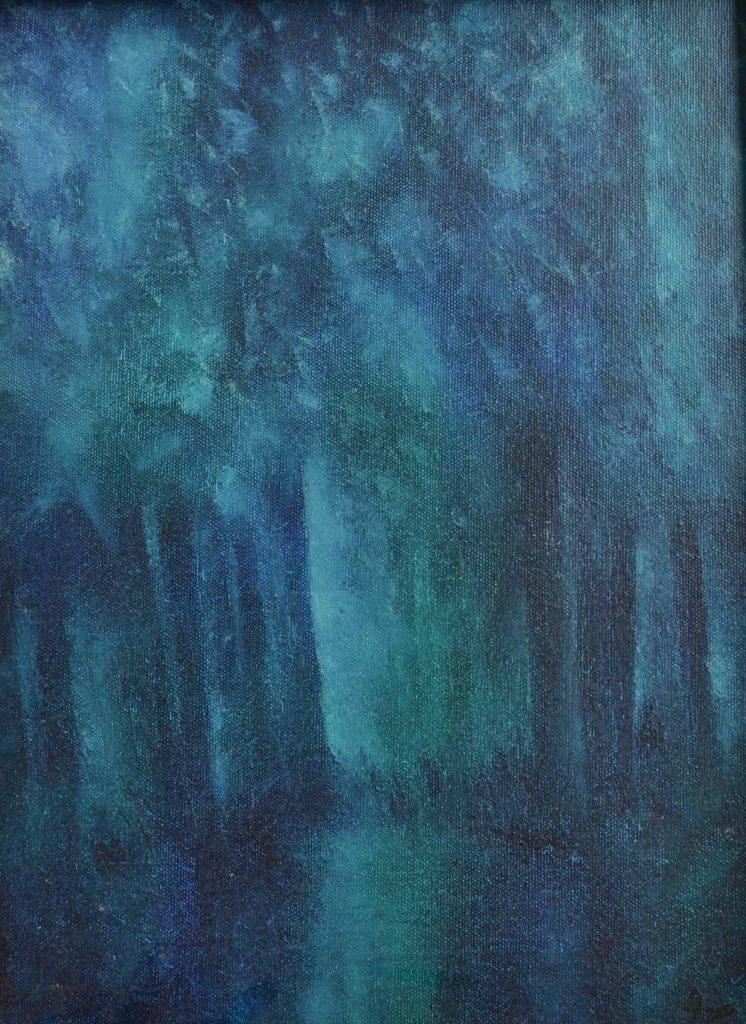 Deep forest print