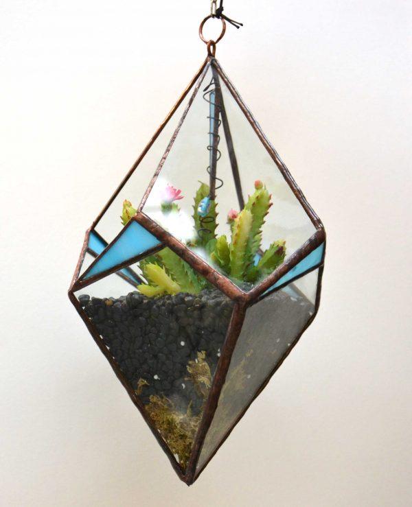 Kite Hanger planted sculpture