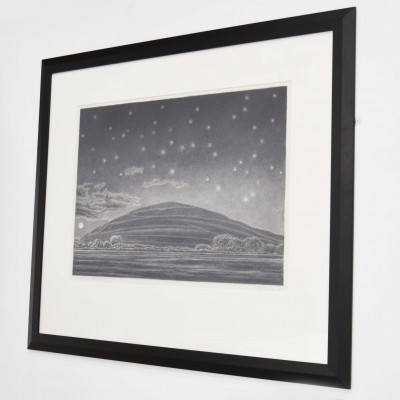 Hambledon Hill with Moon and Stars