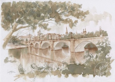 El Puente (Logron?o, Spn) 38x27cm