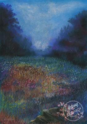 Floresta Azul (39.2 x 54.2cm)