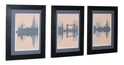 London Skyline Tryptic 1