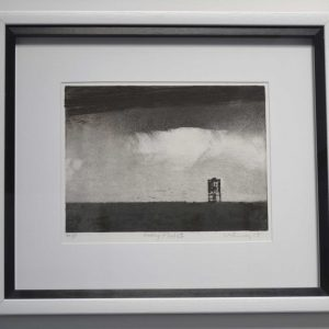 Etching by Dave Gunning