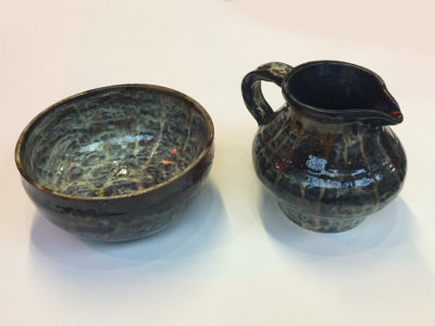 Liz Gunning Jug and Bowl