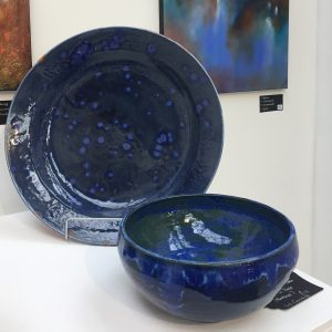 Liz Gunning - Large Plate and Bowl