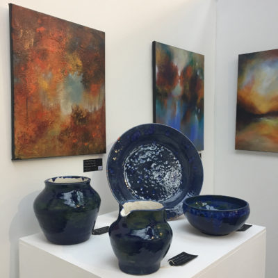 Liz Gunning Pottery exhibition at Ironbridge Fine Arts 3