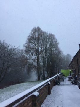Art Gallery Exterior Snow