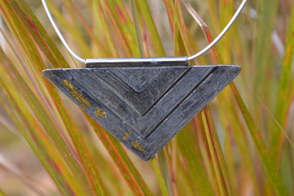 Triangular bespoke necklace