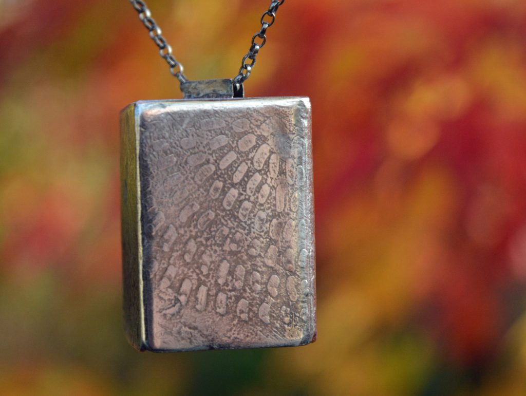hand-made pendant by Jo Mollart-Highfield