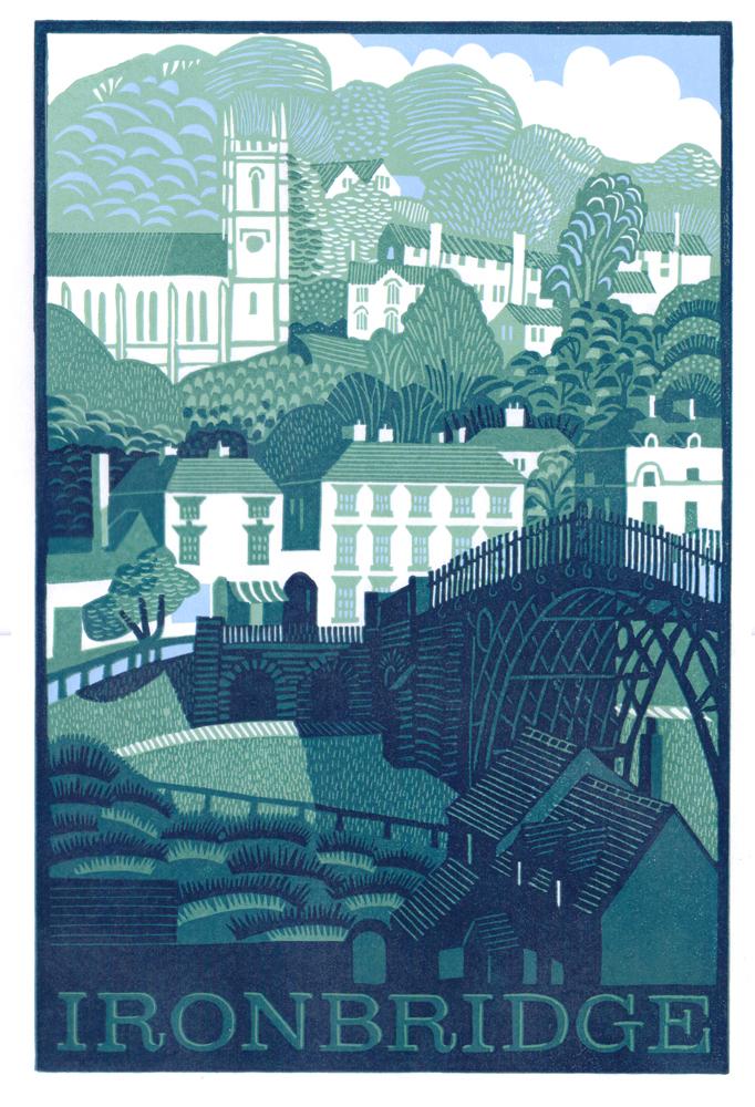 Ironbridge By Eric Gaskell Ironbridge Fine Arts And Framing