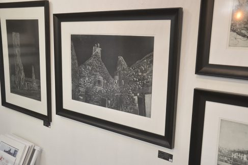 Etchings by Jenny Gunning
