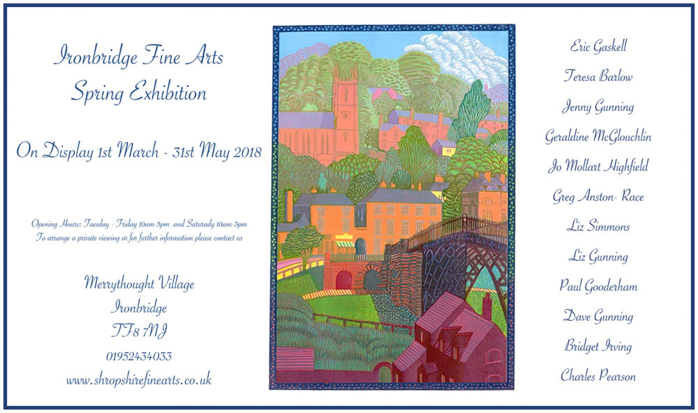 Spring 2018 Exhibition Flyer