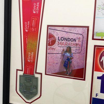 London Marathon Frame 3