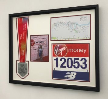 London Marathon Frame