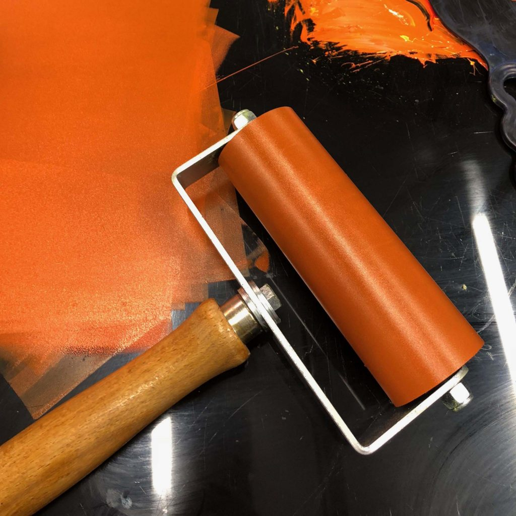 how to use a hand roller