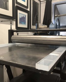 Printing Runners for an etching press