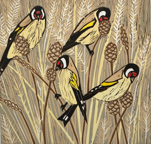 Goldfinches by Emma Kirkman
