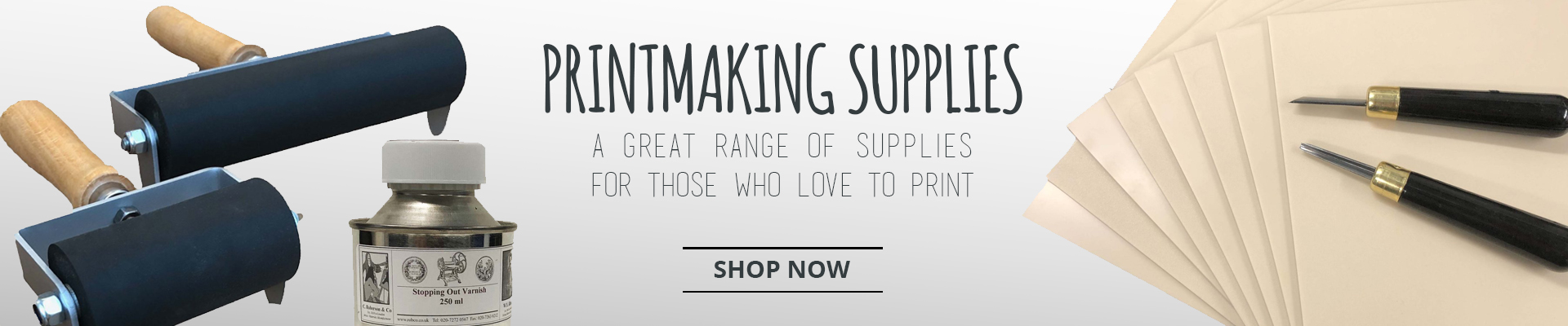 Printmaking supplies