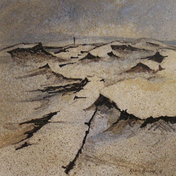 Robin Holder watercolour on Paper